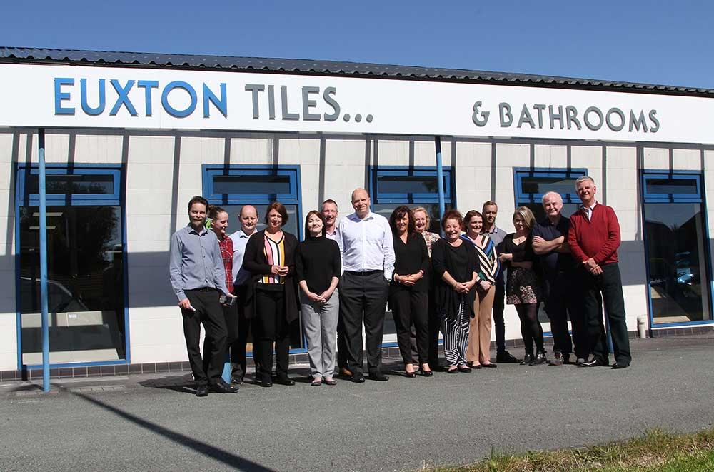 Euxton Tiles Buys Marshalls' Tile and Stone Interiors Stock
